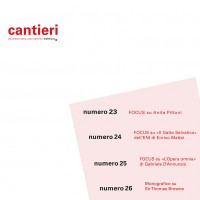 Copertina Raccolta Cantieri 2013