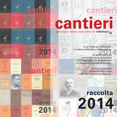 Copertina Raccolta Cantieri 2014