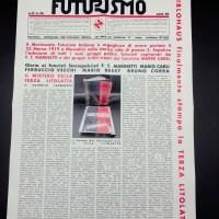 rivista futurismo 29 del 26 marzo 1933 fronte