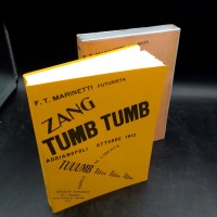 FT Marinetti Zang Tumb Tuuum Biblohaus 1